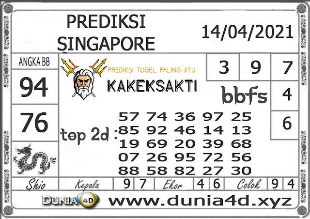 Prediksi Togel SINGAPORE DUNIA4D 14 APRIL 2021