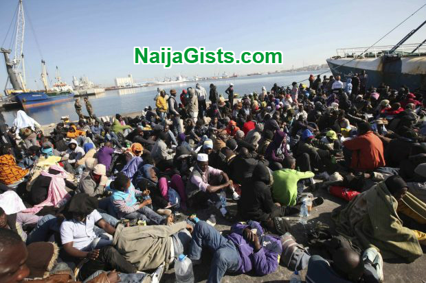 154 nigerians deported from libya