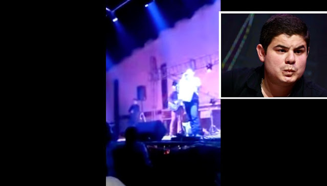 Video: En pleno concierto así fue el primer ataque contra Alfredo Olivas