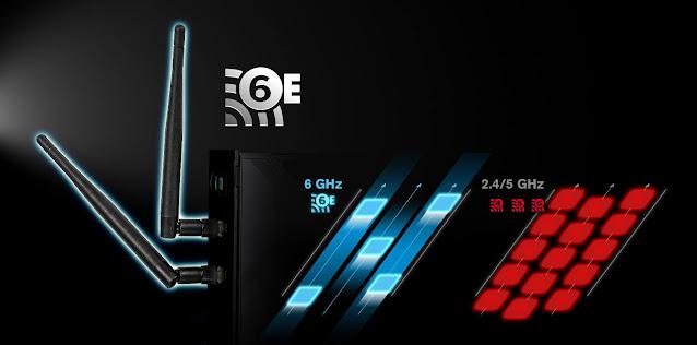 Công nghệ WiFi 6E trên mainboard Z590