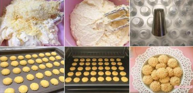 Resep Cara Membuat Kue Sagu Keju Yang Enak, Lumer di Mulut, Wangi dan Ada Krenyes-Krenyes Keju Pas di Gigit !!