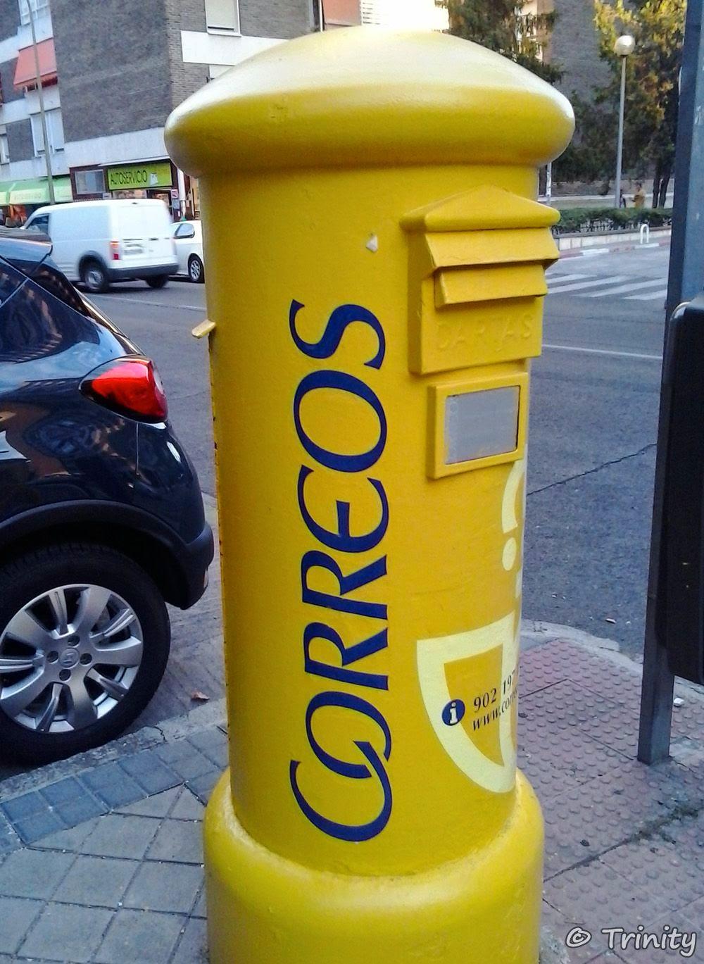 Mi matrix particular cada vez hay menos buzones for Oficinas de correos zaragoza