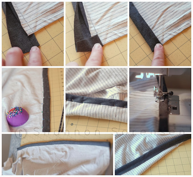 alter a shirt to a cardigan tutorial
