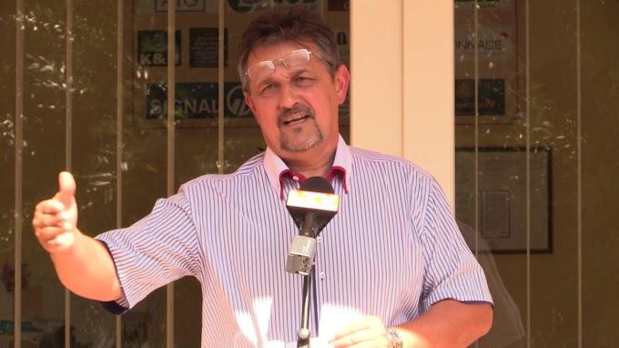 Tóth Lajos Püspökladány polgármestere