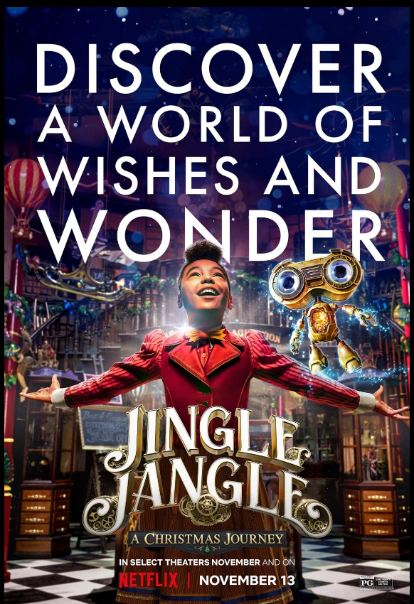 Movie Jingle Jangle a Christmas Journey 2020