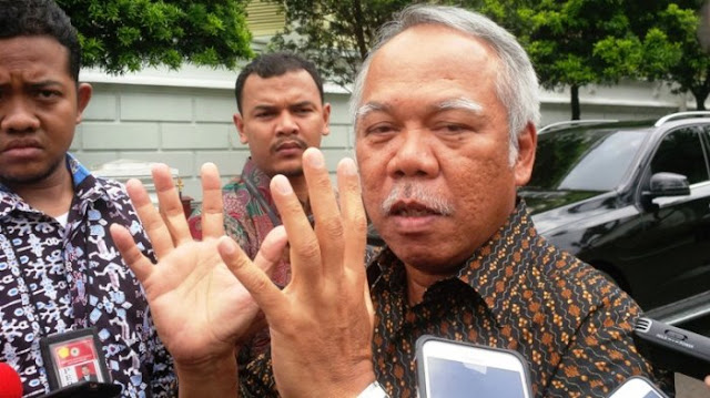 Pegawai Terjerat OTT KPK, Menteri PUPR Mengaku Kaget