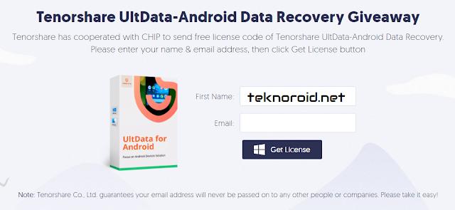 Android Hediyeleri İçin Tenorshare Ultdata