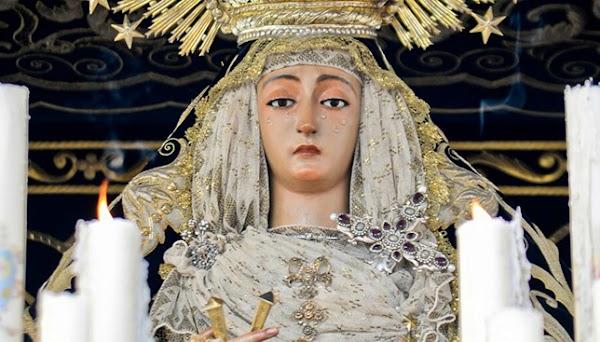 Horario e Itinerario Salida Extraordinaria de la Virgen de la Soledad de Cantillana