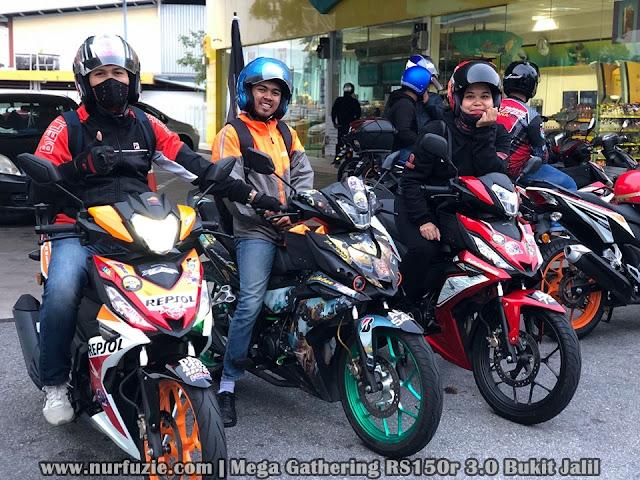 Hadir Mega Gathering RS150R 3.0 Bukit Jalil Bersama RS Manjung