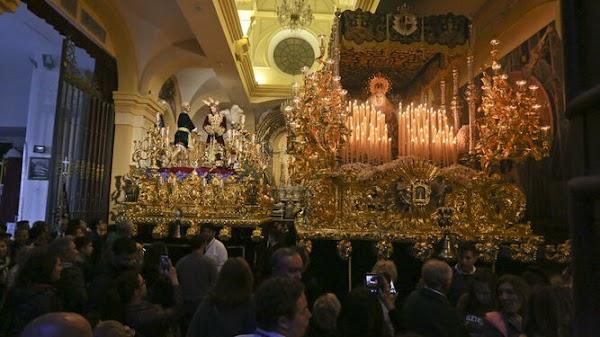 La hermandad de la Paloma de Málaga propondrá a su junta una procesión extraordinaria con la virgen bajo palio