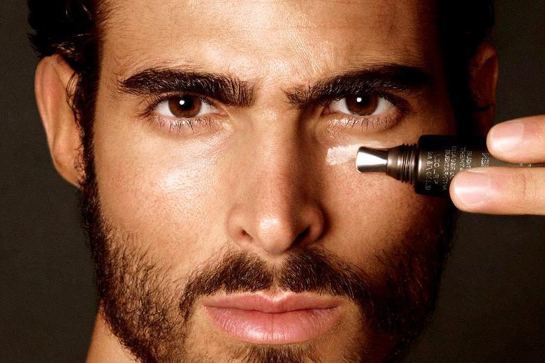 cosmetica y maquillaje para hombres