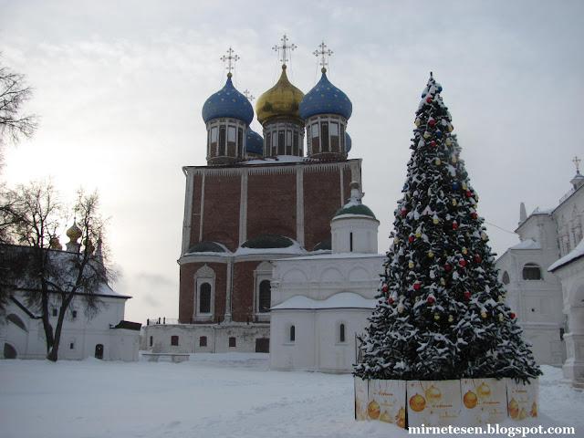 Рязанский кремль зимой