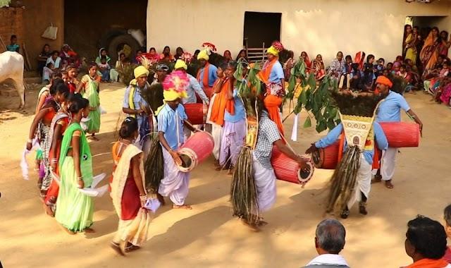 सरगुजा अंचल में धूमधाम से मनाया जाता है लोक पर्व करमा