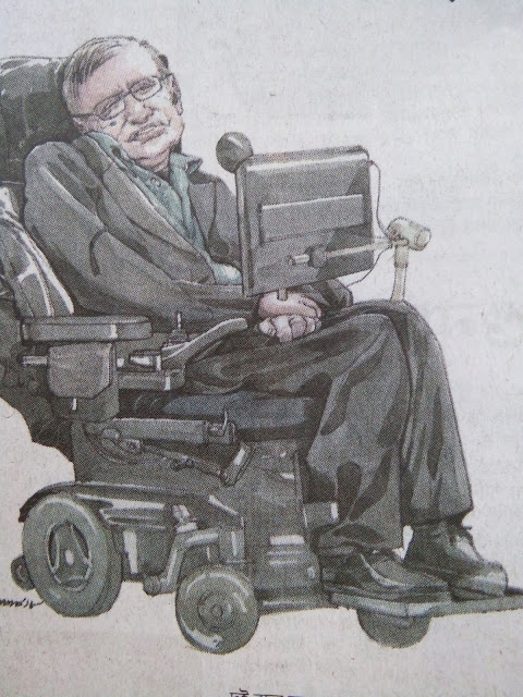 Stephen  Hawking's  illness  was  a  cultural  icon