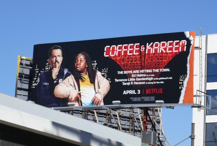 Coffee Kareem film billboard