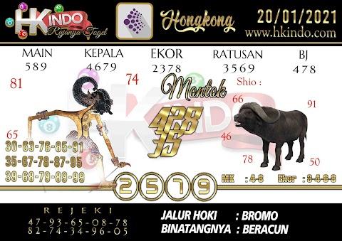 PREDIKSI SYAIR TOGEL HONGKONG HARI INI 20 JANUARI 2021