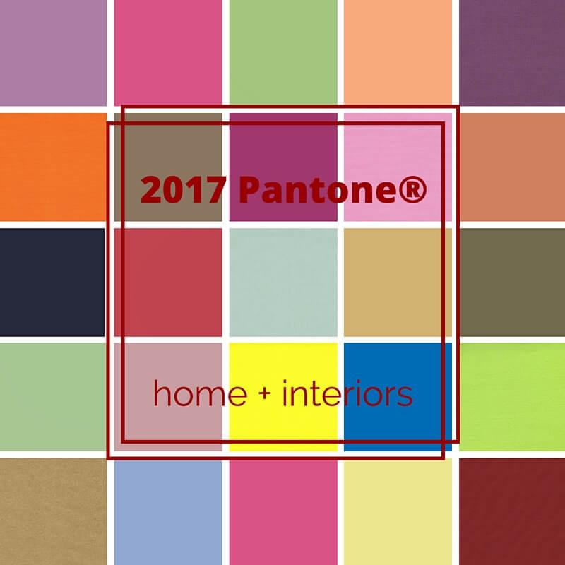 Pantone 2017 i colori per la casa di domani gena design - Colori per la casa ...