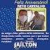 Vereador Jaílton Spindola parabeniza amigo e líder político Neto Carvalho