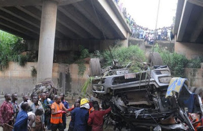 Report coming from Ogun State have confirmed an auto crash involving travelers between December to January and it has been reported that 31 persons dead already while many more injured.