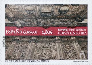 VIII CENTENARIO UNIVERSIDAD DE SALAMANCA