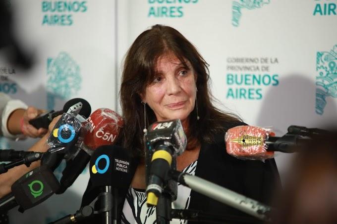 """Teresa García: """"encontramos plena colaboración de los intendentes radicales"""""""