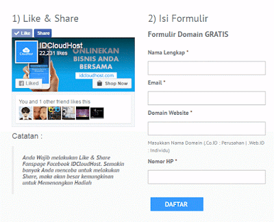Domain TLD  (co.id & web.id) Gratis Tanpa Syarat April 2017