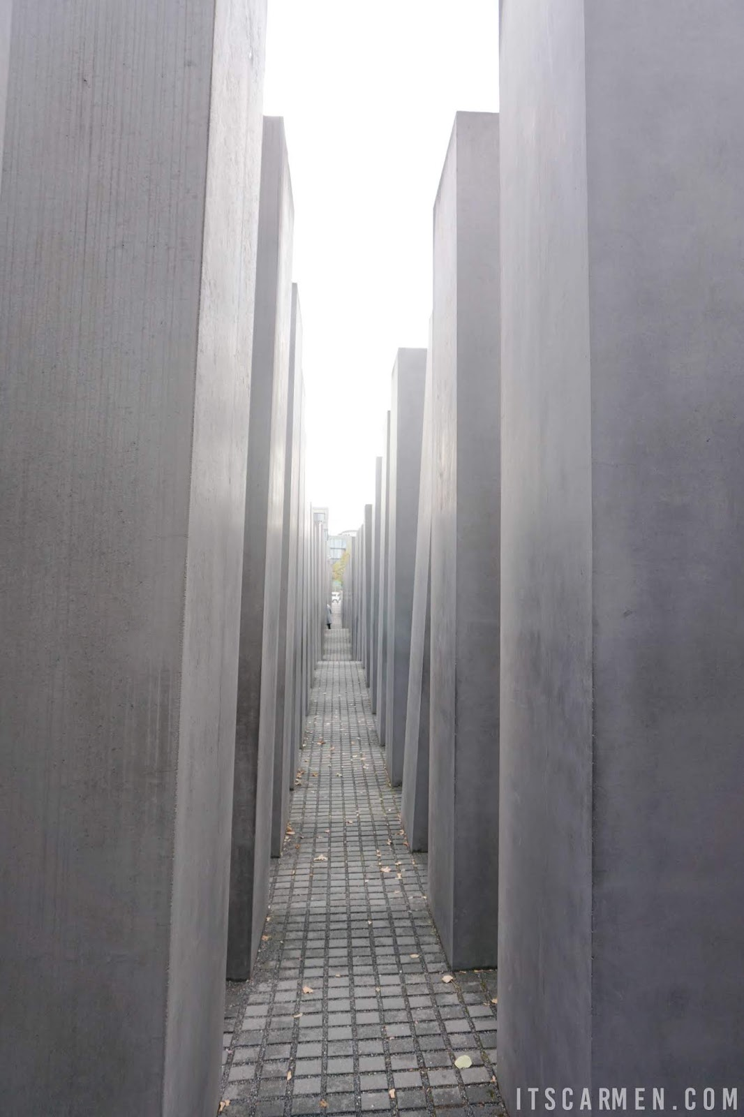 A view of the Memorial to the Murdered Jews of Europe. What to Do in Berlin in 3 Days: Visiting Berlin, Germany