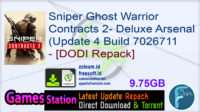 Sniper Ghost Warrior Contracts 2 – Deluxe Arsenal Edition (Update 4 Build 7026711 – Butcher's Banquet update + 23 DLCs + Soundtrack + MULTi12) – [DODI Repack]