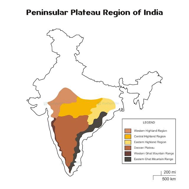 Peninsular Plateau of India