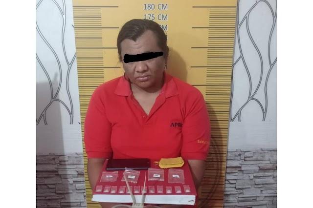 Seorang Warga Langsa Diringkus Polisi Kedapatan 12 Paket Sabu
