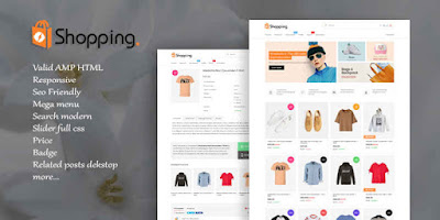 Update: Shopping AMP HTML v1.2 Responsive Blogger Template