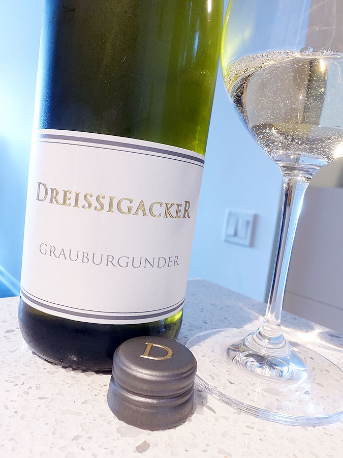 Weingut Dreissigacker Grauburgunder Organic 2018 (90 pts)