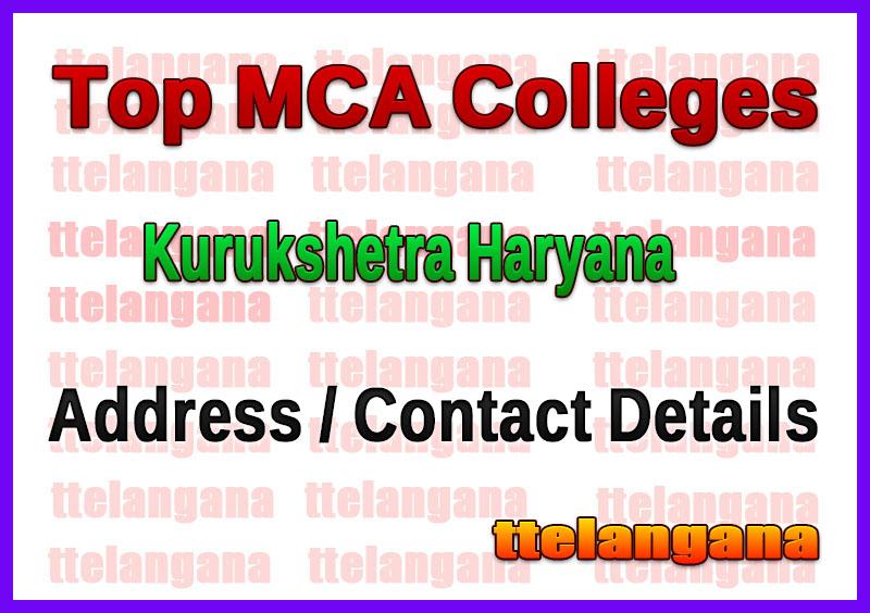 Top MCA Colleges in Kurukshetra Haryana