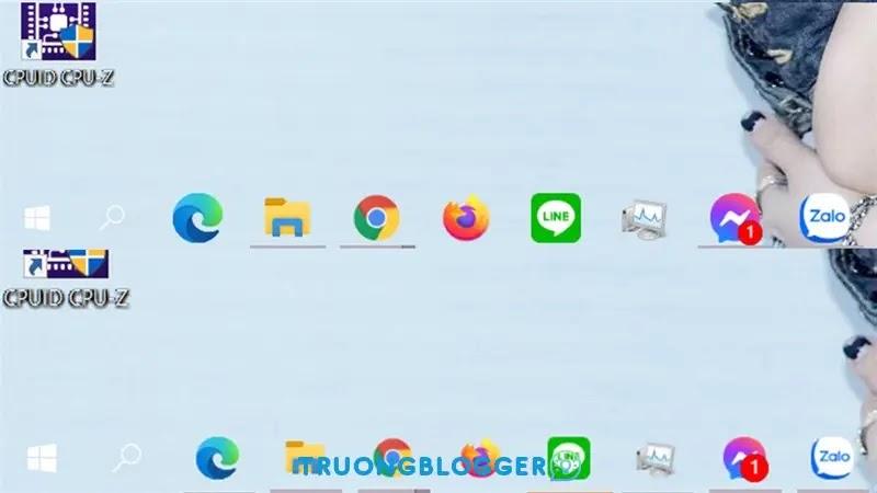Thay đổi kích thước icon Taskbar trên Windows 10