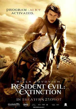Resident Evil Extinction 2007 BRRip 700MB Hindi Dual Audio 720p Watch Online Full Movie Download bolly4u