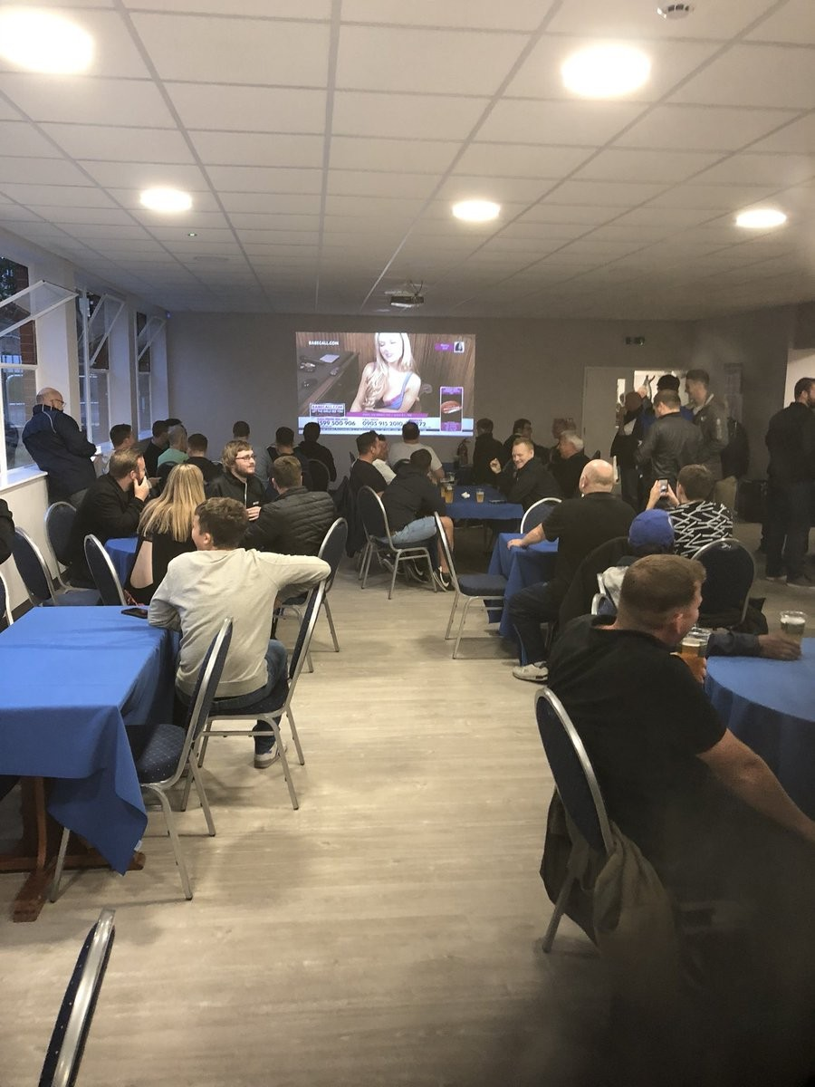Bristol Rovers accidentally screen Porn station at half-time of Carabao Cup clash with Crawley Town (Photos/Video)