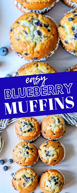 The Best Homemade Blueberry Muffins