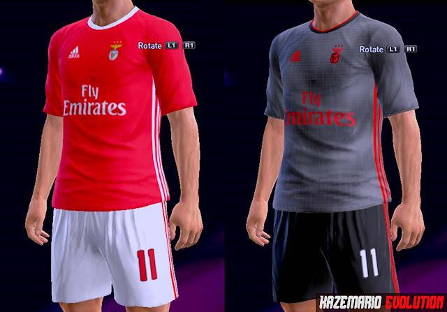 sale retailer bdbd2 90195 PES 2013 Benfica Home and Away 2019/20 Kits