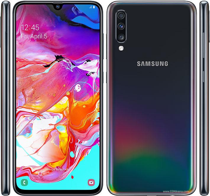 Review dan Spesifikasi Samsung  Galaxy A70 dengan Kelebihan