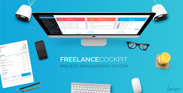 CodeCanyon - Freelance Cockpit 2 v2.4.2 - Project Management