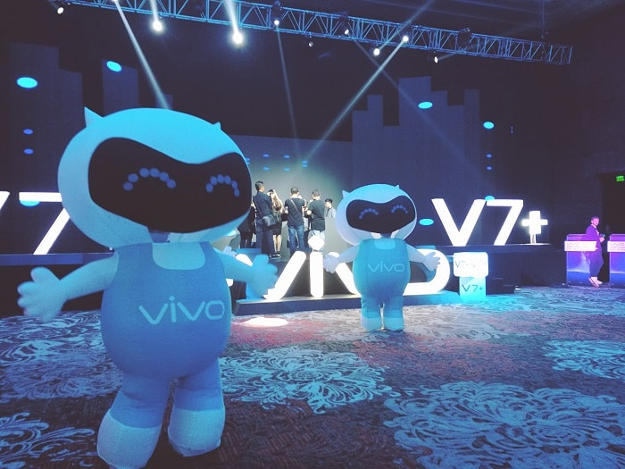 Vivo V7+ Launch Party at Marriott Manila