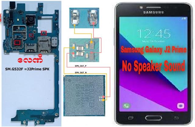 Fix Samsung Galaxy J2 Prime Speaker No Sound