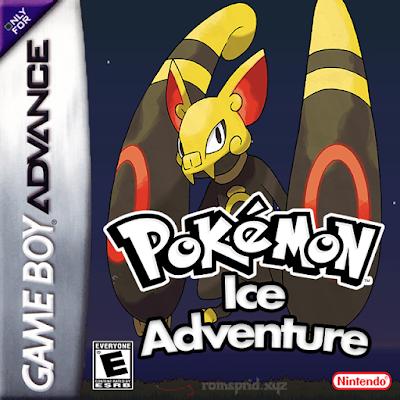 Pokemon Ice Adventure gba rom hack