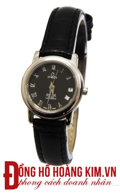 Đồng hồ nữ omega dây da