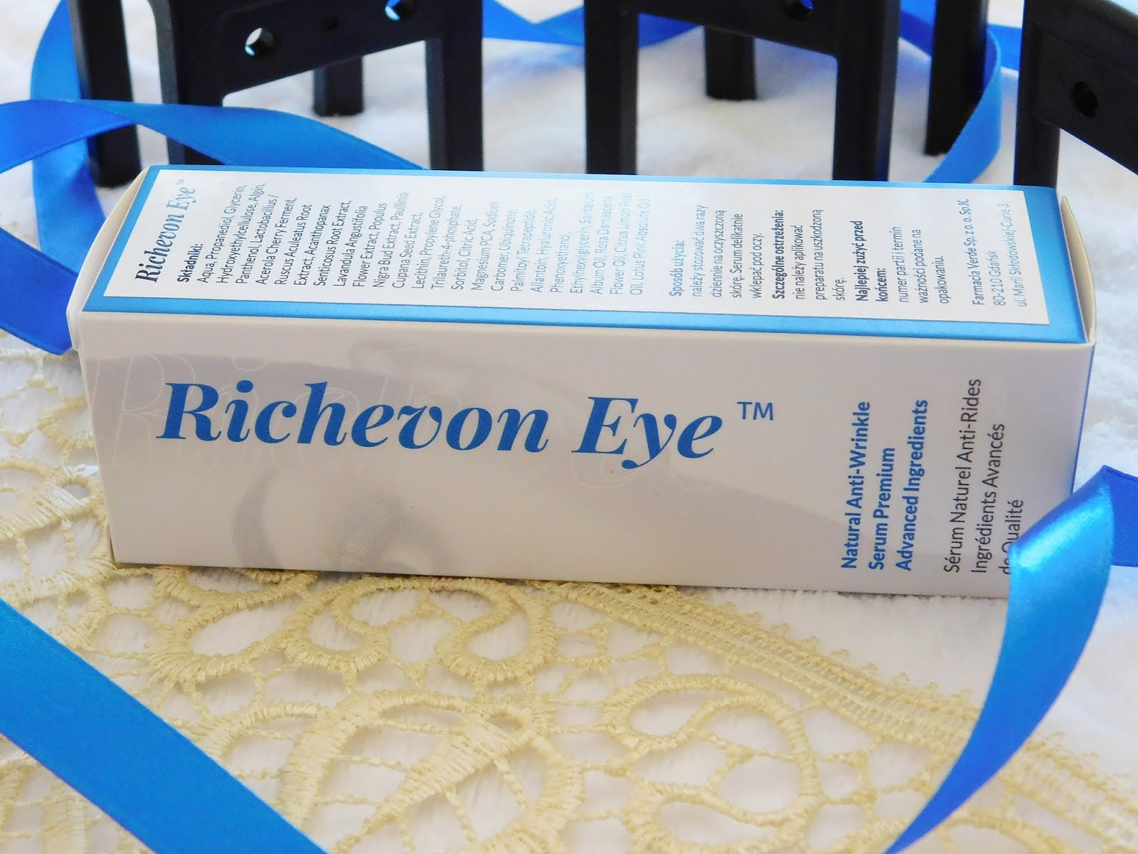 Serum pod oczy Richevon Eye. Siła natury w walce z oznakami starzenia się skóry.