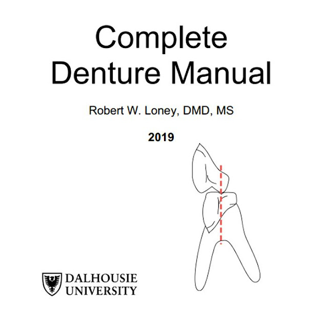 Complete Denture Manual - Robert W. Loney, DMD, MS - 2019