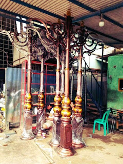 tiang lampu antik,tiang lampu taman antik,tiang lampu pju antik
