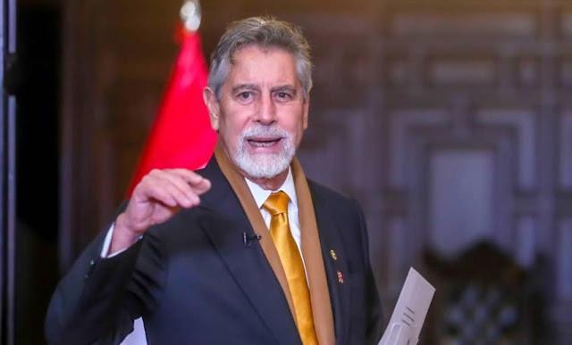 Último Mensaje a la Nación del presidente de la República, Francisco Sagasti