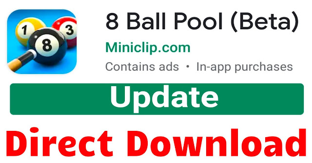 Download 8 ball pool Beta All Versions