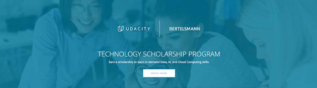 منحة Bertelsmann Tech Udacity لدراسة علوم البيانات والحاسوب عبر الإنترنت